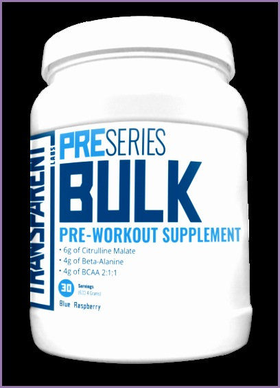 preseries bulk by transparent labs reviews