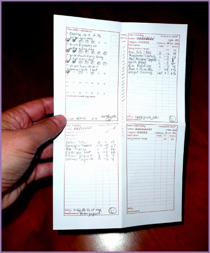 oi weight watchers food diary template