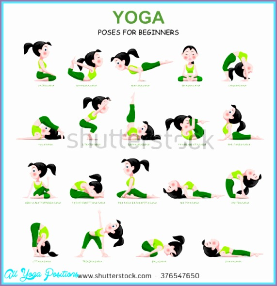 list yoga poses pictures