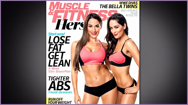 the bella twins muscle and fitness hers magazine