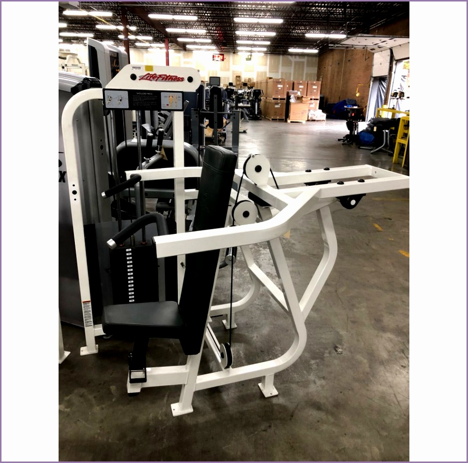 life fitness pro strength cardio gym package