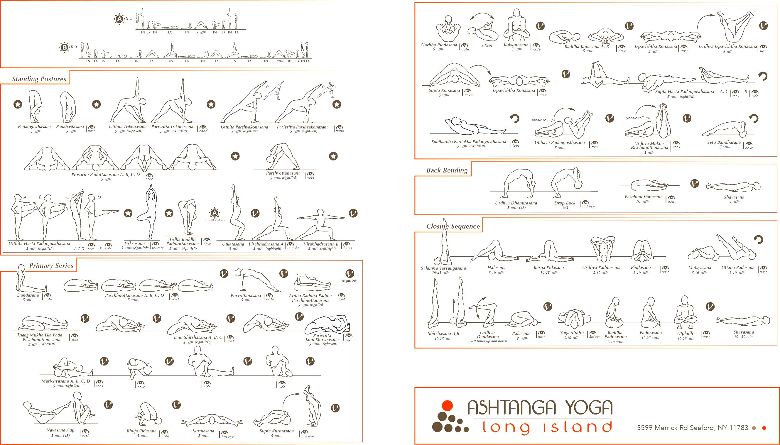 Ashtanga Vinyasa Yoga Poses Pdf | Workout Krtsy