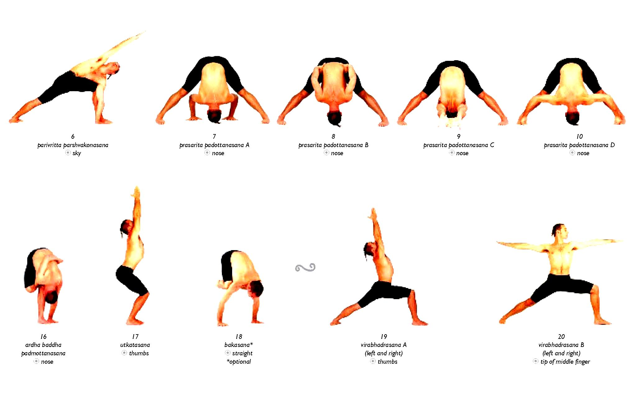 Asana Yoga Poses - Work Out Picture Media - Work Out
