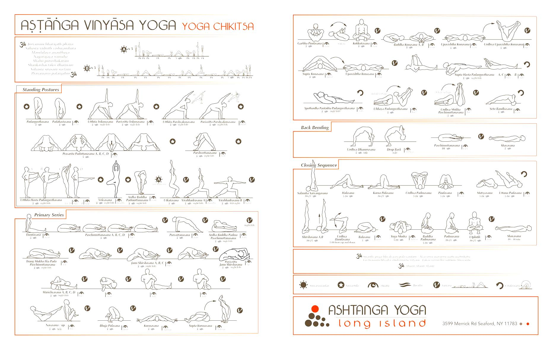Printable 84 Hatha Yoga Postures Pdf Ardusat Org
