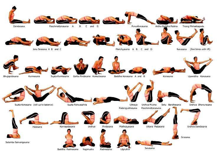 Ashtanga Yoga Poses - Work Out Picture Media - Work Out-2033
