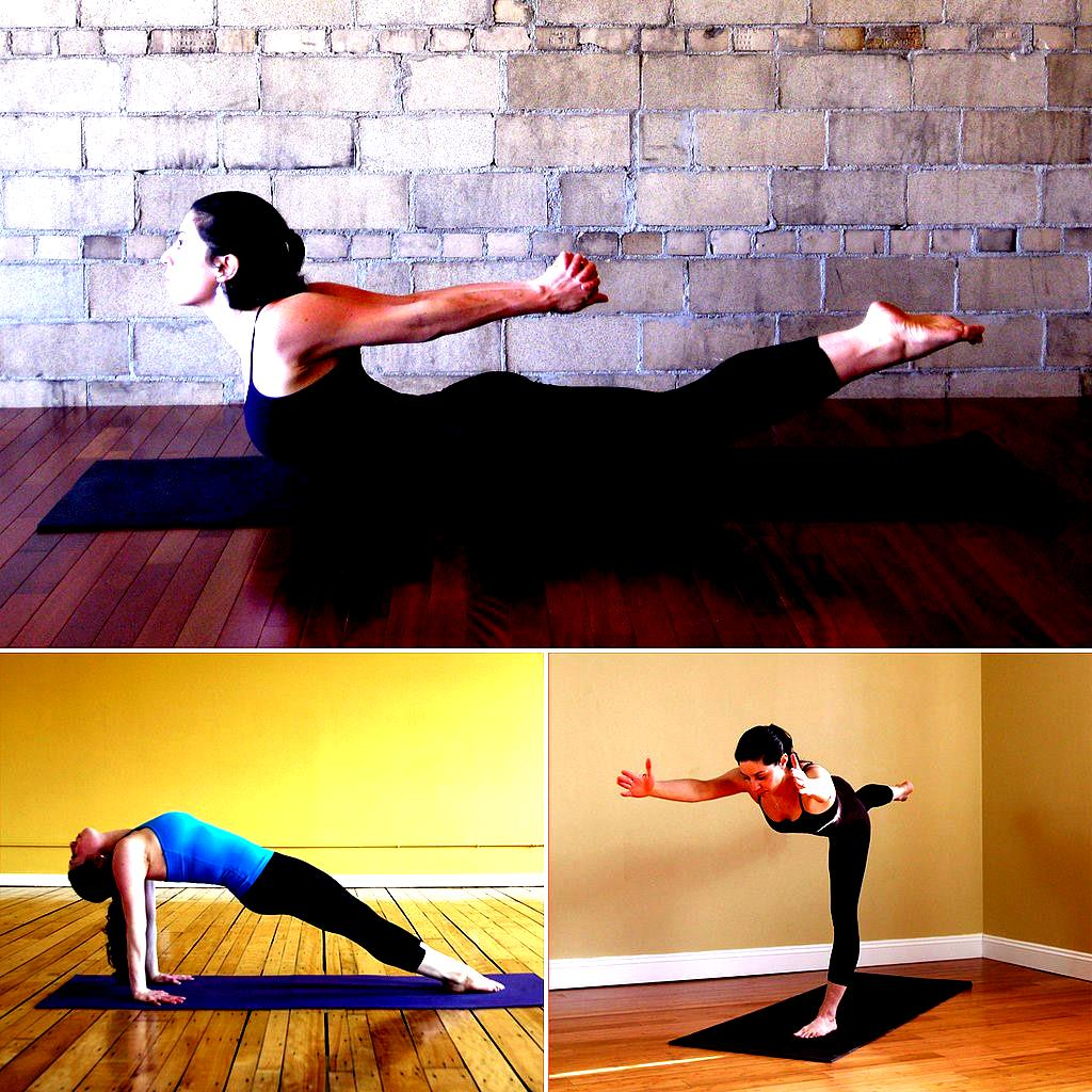 power yoga poses for trimming thighs