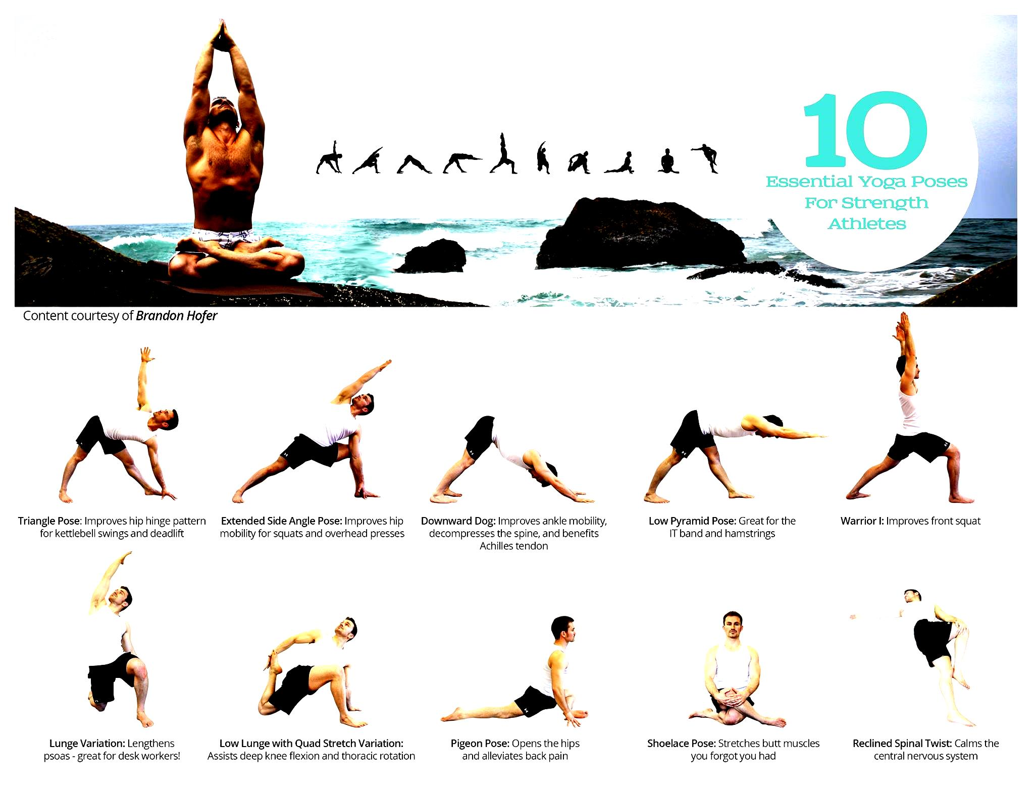 Easy Yoga Poses With N...