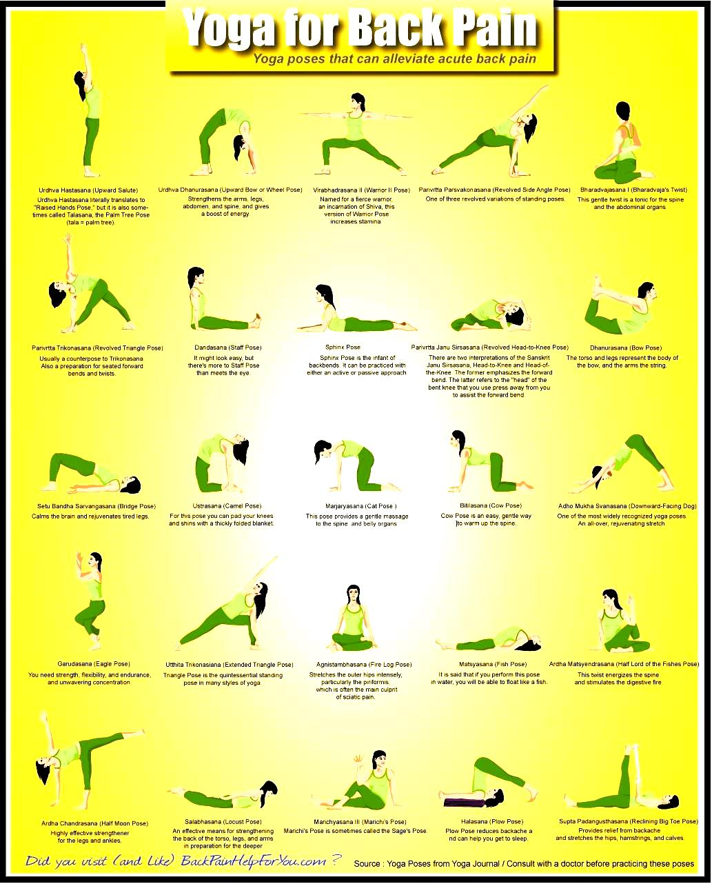 Yoga Poses With Names And Pictures - Work Out Picture