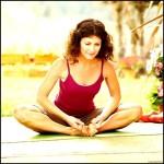 Bound Angle Pose – Forward Bend Yoga Poses