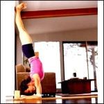 Feathered Peacock Pose – Inversion Yoga Poses