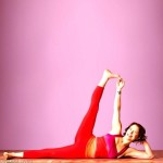 Side-Reclining Leg Lift – Balancing Yoga Poses