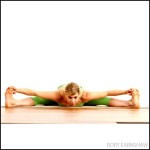 Wide-Angle Seated Forward Bend – Forward bend Yoga Poses