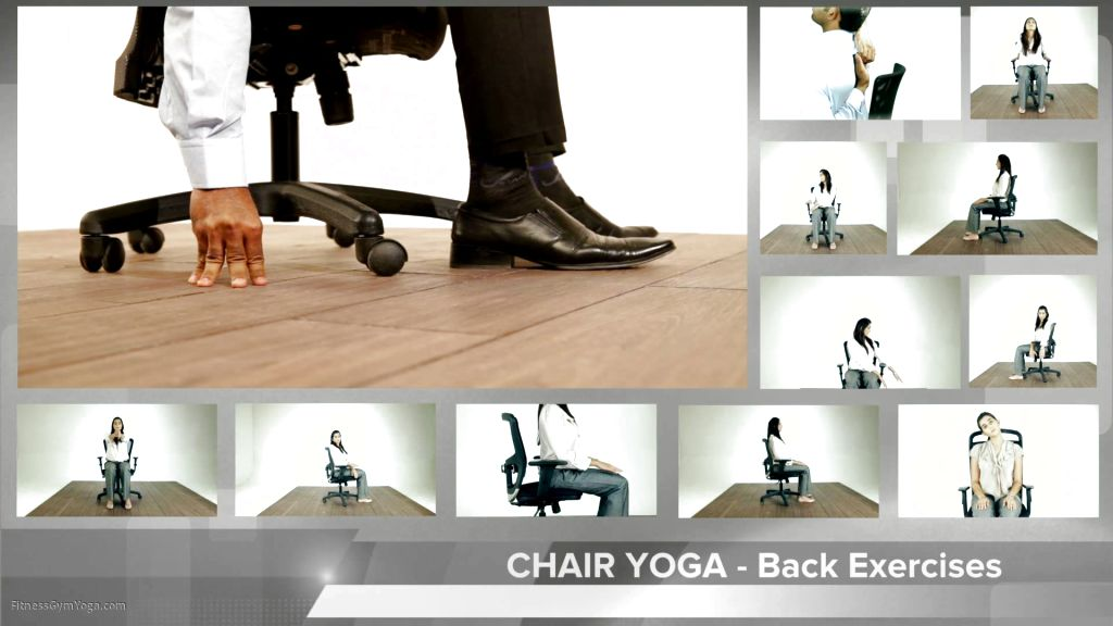 photo relating to Printable Chair Yoga Routines titled printable chair yoga workout routines - Operate Out Imagine Media