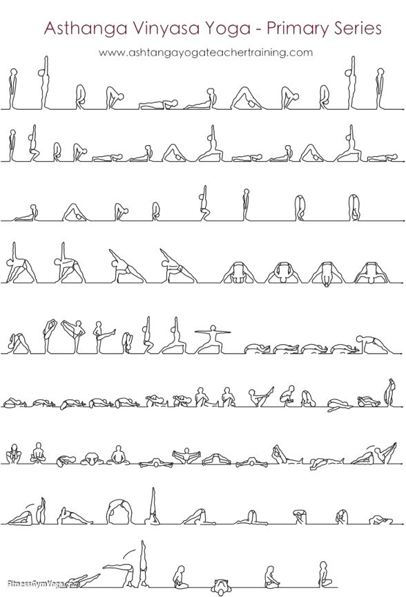 Ashtanga Yoga Moves | Workout Krtsy