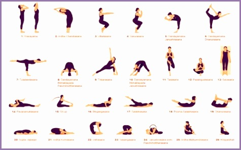 4 26 yoga poses  work out picture media  work out