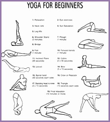 4 easy yoga poses for beginners  work out picture media