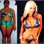 4 Female Fitness before and after