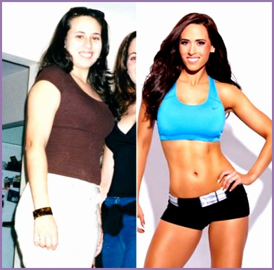 Fit Women Inspiration before and after Qzhhfa Lovely Fat to Fitness Expert 16 Personal Trainers before and after