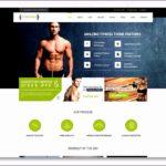 5 Fitness Websites Templates