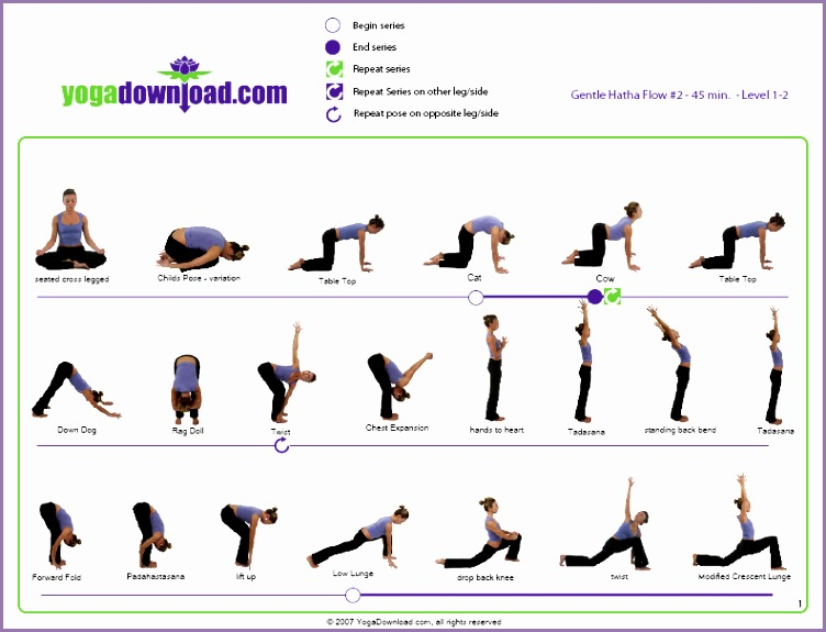 Yoga Poses for Beginners Chart Adecwv Awesome 5 Able Yoga Pose Sequences for All Levels