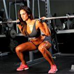 6 Female Fitness Squats