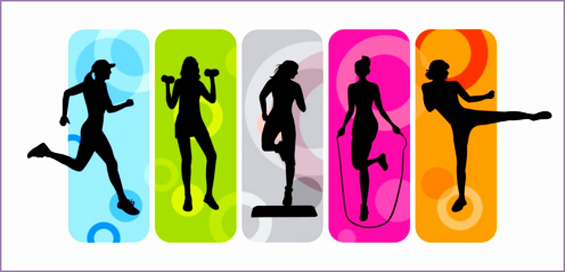 6 fitness class clip art work out picture media work for Craft classes near me