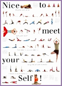 4 yoga dictionary poses  work out picture media  work