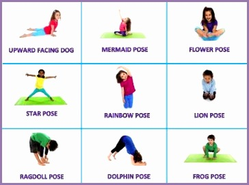 7 yoga moves for kids  work out picture media  work out