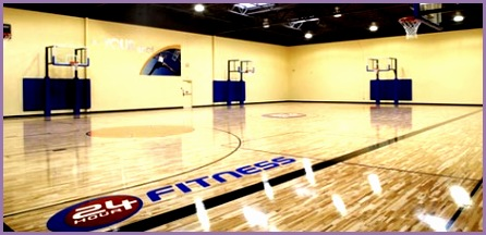 7 24 Hour Fitness Basketball Court Work Out Picture