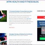 4 Fitness Blog Logo