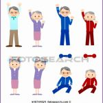 7 Fitness Class Clipart