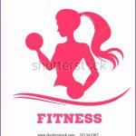 6 Fitness Logo Silhouette
