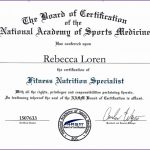 8 Fitness Nutrition Specialist