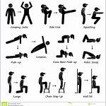 4 Fitness Testing Clip Art