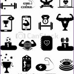 7 Fitness Vector Icons