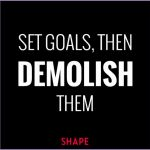 4 Inspirational Fitness Goals Quotes