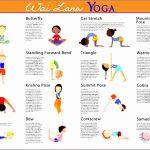 4  Yoga Poses for Kids Printable