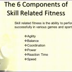 8 Skill Related Fitness Power