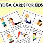 6 Yoga Pose Cards