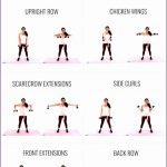 4 Arm Workouts for Women at the Gym