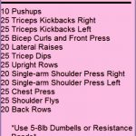 4 Home Arm Workouts