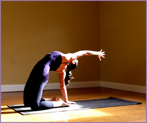 4 camel pose yoga  work out picture media  work out