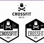 8 Crossfit Gym Logo